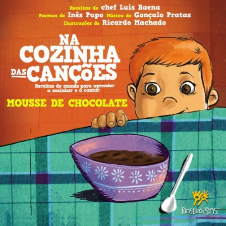 In the kitchen of Songs – chocolate mousse